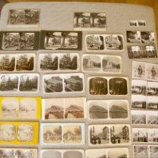 Fotografía antigua: LOTE-- 34 FOTOGRAFÍAS ESTEREOSCÓPICAS---- ALICANTE . Lote 165824154