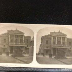 Fotografía antigua: ESTEREOSCOPICA DE CASTELLON Nº 8 EL TURISMO PRACTICO TEATRO PRINCIPAL CASTELLON A. MARTIN. Lote 166678430