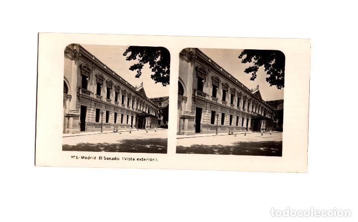Fotografía antigua: MADRID.- COLECCIÓN. 14 ESTEREOSCÓPICAS. EL TURISMO PACTICO. - Foto 8 - 166790462