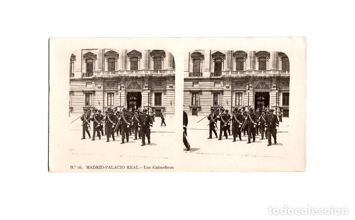 Fotografía antigua: MADRID.- COLECCIÓN. 14 ESTEREOSCÓPICAS. EL TURISMO PACTICO. - Foto 9 - 166790462