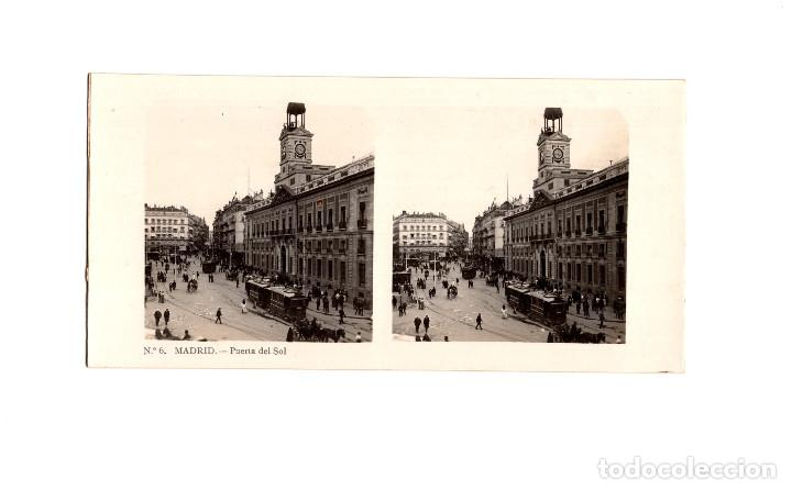 Fotografía antigua: MADRID.- COLECCIÓN. 14 ESTEREOSCÓPICAS. EL TURISMO PACTICO. - Foto 10 - 166790462
