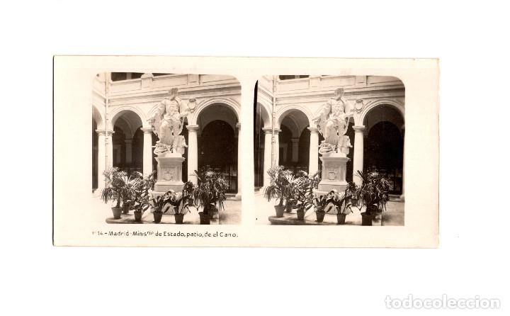 Fotografía antigua: MADRID.- COLECCIÓN. 14 ESTEREOSCÓPICAS. EL TURISMO PACTICO. - Foto 17 - 166790462