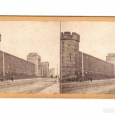 Fotografía antigua: PHILADELPHIA, USA. PHOTO: R. NEWELL. S. XIX. 8,5 X 17,5 CM.. Lote 167952028