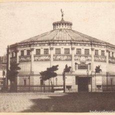 Fotografía antigua: CIRQUE NAPOLEON, PARÍS. 1860S. ALBÚMINA 8,5 X 17 CM.. Lote 167953012