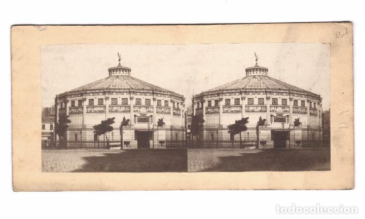 Fotografía antigua: CIRQUE NAPOLEON, PARÍS. 1860s. Albúmina 8,5 x 17 cm. - Foto 2 - 167953012