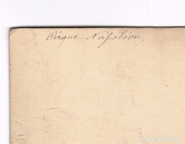 Fotografía antigua: CIRQUE NAPOLEON, PARÍS. 1860s. Albúmina 8,5 x 17 cm. - Foto 3 - 167953012