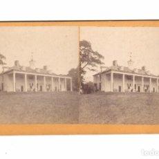 Fotografía antigua: MOUNT VERNON, VIRGINIA. USA. ALBÚMINA ESTEREO 8,5X17 CM.. Lote 167953208