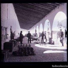 Fotografía antigua: NORTE DE ESPAÑA. GALICIA. MERCADO. PLAZA. C.1930. Lote 168282284