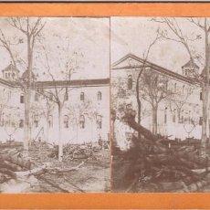 Fotografía antigua: ALCOY - HOSPITAL OLIVER, 1900'S. 8X18 CM.. Lote 169592608