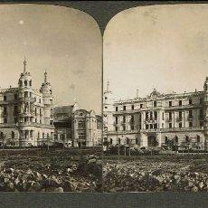 Fotografía antigua: VISTA ESTEREOSCÓPICA.GRAN HOTEL BALNEARIO. LA TOJA. (PONTEVEDRA).. Lote 169979712