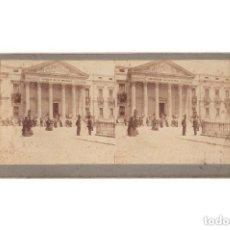 Fotografía antigua: ESTEREOSCÓPICA.- MADRID.- CONGRESO DE LOS DIPUTADOS. FIESTAS REALES. CORONACIÓN ALFONSO XIII. . Lote 171134784