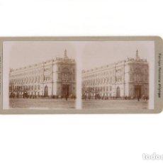 Fotografía antigua: ESTEREOSCÓPICA.- MADRID.- EL BANCO DE ESPAÑA.. Lote 171135618