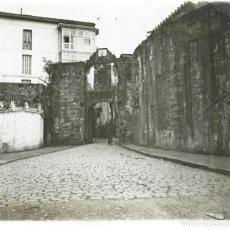 Fotografía antigua: FUENTERRABIA 1920 POSITIVO CRISTAL ESTEREOSCOPICO. Lote 171309772