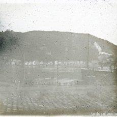 Fotografía antigua: PASAJES 1920 POSITIVO CRISTAL ESTEREOSCOPICO. Lote 171311052
