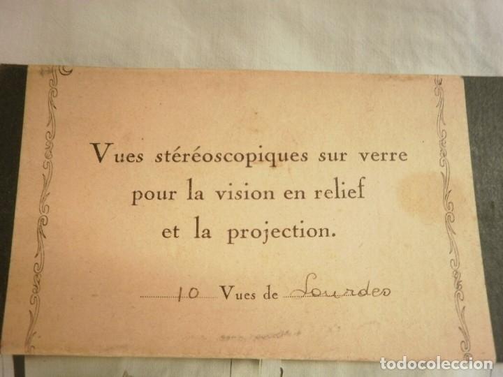 Fotografía antigua: FOTOGRAFIAS ESTEREOSCOPICAS DE LOURDES (FRANCIA) - Foto 6 - 171620415