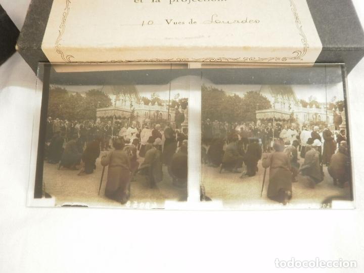 FOTOGRAFIAS ESTEREOSCOPICAS DE LOURDES (FRANCIA) (Fotografía Antigua - Estereoscópicas)