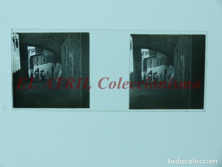 Fotografía antigua: SAGUNTO, VALENCIA - 8 POSITIVOS EN CRISTAL ESTEREOSCOPICOS - AÑOS 1910-1920 - Foto 3 - 172014372