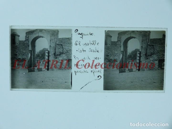 Fotografía antigua: SAGUNTO, VALENCIA - 8 POSITIVOS EN CRISTAL ESTEREOSCOPICOS - AÑOS 1910-1920 - Foto 4 - 172014372