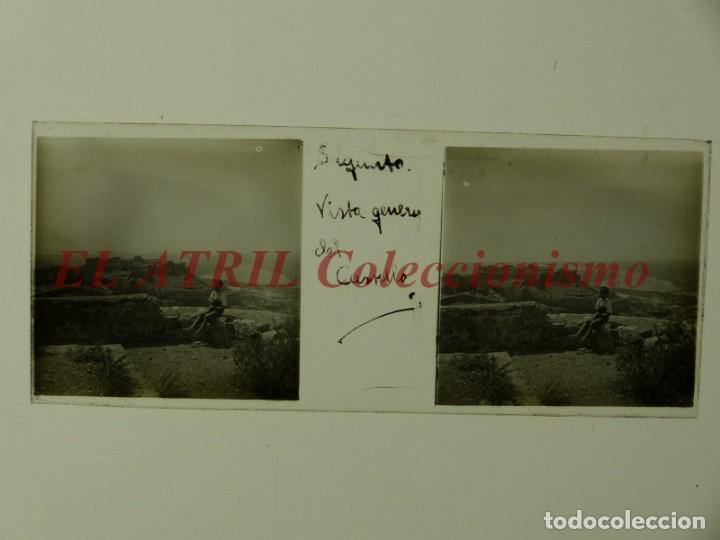 Fotografía antigua: SAGUNTO, VALENCIA - 8 POSITIVOS EN CRISTAL ESTEREOSCOPICOS - AÑOS 1910-1920 - Foto 9 - 172014372