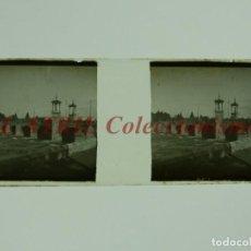 Fotografía antigua: VALENCIA, PUENTE DEL REAL - POSITIVO EN CRISTAL ESTEREOSCOPICO - AÑOS 1920. Lote 172097872