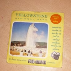 Fotografía antigua: VIEW MASTER YELLOWSTONE3 . Lote 172730643