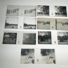 Fotografía antigua: LOTE 7 PLACAS ESTEREOSCOPICAS FAMILIA BURGUESA EN MADRID PRINCIPIO DEL SIGLO XX. Lote 172905028