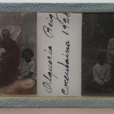 Fotografía antigua: ALQUERIA DE REIG COCENTAINA 1928 POSITIVO DE CRISTAL. Lote 173109423