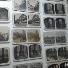 Fotografía antigua: VISTAS ESTEREOSCOPICAS DE ESPAÑA. EL TURISMO PRACTICO. 22 TOMAS DE GRANADA. A. MARTIN.. Lote 174520529