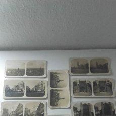 Fotografía antigua: VISTAS ESTEREOSCOPICAS DE ESPAÑA. EL TURISMO PRACTICO. 12 TOMAS DE VALLADOLID. ALBERTO MARTIN.. Lote 174525938