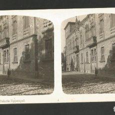 Fotografía antigua: VITORIA-GASTEIZ-PALACIO EPISCOPAL-FOTOGRAFIA ESTEREOSCOPICA-VER REVERSO-(V-17.513). Lote 175547663