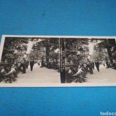 Fotografía antigua: FOTO ESTEREOSCOPICA, LOS ÁNGELES JARDÍN, PUBLIC 459. Lote 175791339