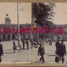 Fotografía antigua: SEVILLA, 1908,PLAZA NUEVA, AYUNTAMIENTO AL FONDO, RARISIMA. Lote 176677970