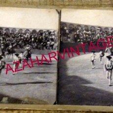 Fotografía antigua: VALVERDE DEL CAMINO, HUELVA, 1906, PLAZA DE TOROS, PASEILLO, UNICA. Lote 177181892