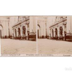 Fotografía antigua: ZARAGOZA.- TEMPLO DEL PILAR. TRASCORO. VIRGEN DE LA ESPERANZA.. Lote 177568192