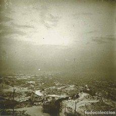 Fotografía antigua: BARCELONA. NEVADA DE 1913. VISTA DES DE EL TIBIDABO. . Lote 177720417