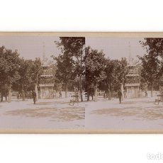 Fotografía antigua: MADRID.- PARQUE DEL RETIRO. CORONACIÓN ALFONSO XIII. INSTALACIONES RELOJES.. Lote 178051062