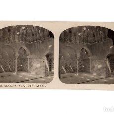 Fotografía antigua: GRANADA.- ALHAMBRA. BAÑOS DEL SULTAN.. Lote 178052870