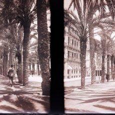 Fotografía antigua: ALICANTE NEGATIVO CRISTAL. Lote 178325206