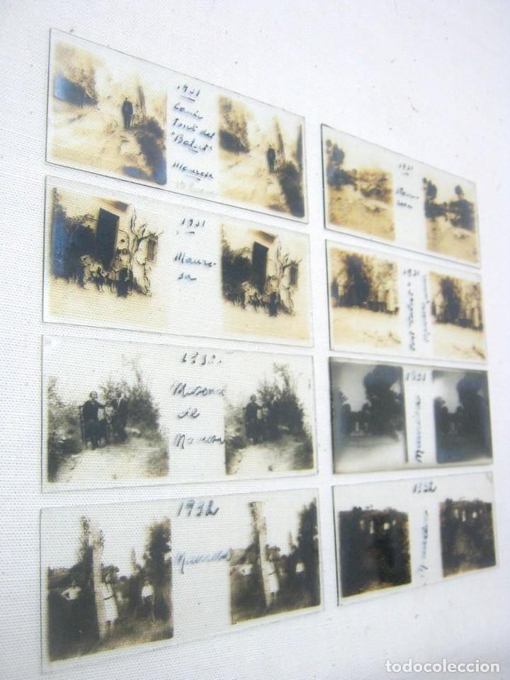 AÑO 1932 LOTE 8 FOTOGRAFÍA ANTIGUA ESTEREOSCOPICA PLACAS CRISTAL- MANRESA . BARCELONA (Fotografía Antigua - Estereoscópicas)