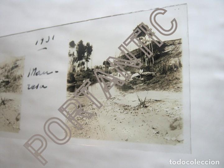 Fotografía antigua: AÑO 1932 LOTE 8 FOTOGRAFÍA ANTIGUA ESTEREOSCOPICA placas CRISTAL- MANRESA . Barcelona - Foto 4 - 178383230