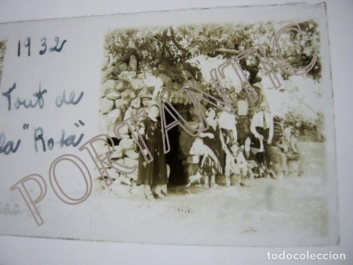 Fotografía antigua: LOTE 3 FOTOGRAFÍA ANTIGUA ESTEREOSCOPICA CRISTAL AÑO 1932 - BADALONA . FONT DE LA ROSA Cataluña - Foto 2 - 178388472