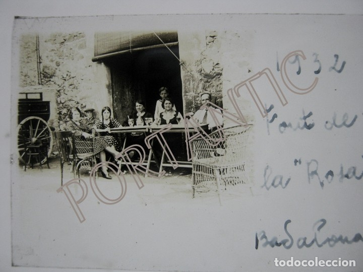 Fotografía antigua: LOTE 3 FOTOGRAFÍA ANTIGUA ESTEREOSCOPICA CRISTAL AÑO 1932 - BADALONA . FONT DE LA ROSA Cataluña - Foto 4 - 178388472