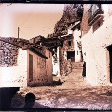 Fotografía antigua: CHULILLA NEGATIVO CRISTAL. Lote 178530286