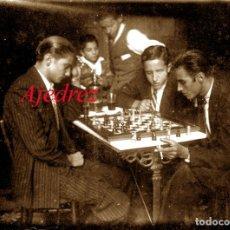 Fotografía antigua: AJEDREZ - 1930'S - NEGATIVO DE VIDRIO . Lote 179325348