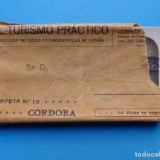 Fotografía antigua: CORDOBA - 14 VISTAS ESTEREOSCOPICAS EL TURISMO PRACTICO - AÑOS 1920-30 - VER FOTOS ADICIONALES. Lote 179516848