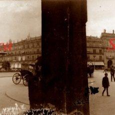Fotografía antigua: SALAMANCA - PLAZA MAYOR - 1920'S - NEGATIVO DE VIDRIO . Lote 179538936