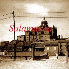 Fotografía antigua: SALAMANCA - CATEDRAL VIEJA - 1920'S - NEGATIVO DE VIDRIO . Lote 179541160