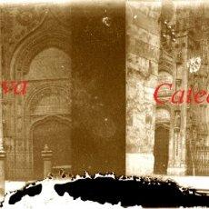 Fotografía antigua: SALAMANCA - CATEDRAL NUEVA - 1920'S - NEGATIVO DE VIDRIO . Lote 179541921