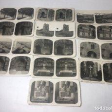 Fotografía antigua: TARRAGONA COLECCIÓN DE 13 FOTOGRAFÍAS ESTEREOSCOPÍCAS ORIGINALES EXCELENTE . Lote 180839857