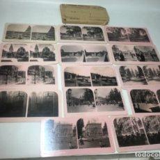 Fotografía antigua: MURCIA COLECCIÓN COMPLETA DE 14!FOTOGRAFÍAS ESTEREOSCOPÍCAS ORIGINALES EXCELENTE. Lote 180846706
